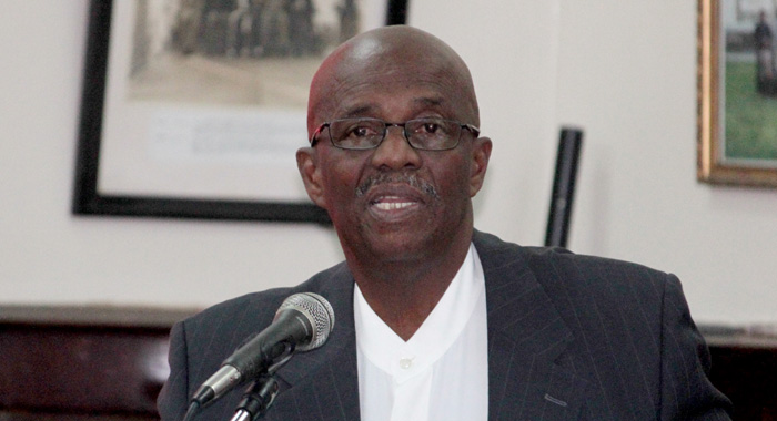 Opposition Leader Arnhim Eustace. (Iwn File Photo)