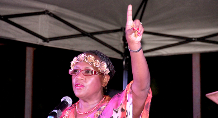 Kay Bacchus-Browne Of The Universal Peace Federation. (Iwn Photo)