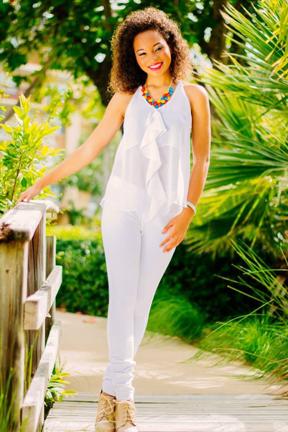 Miss Barbados Ieashia Brown