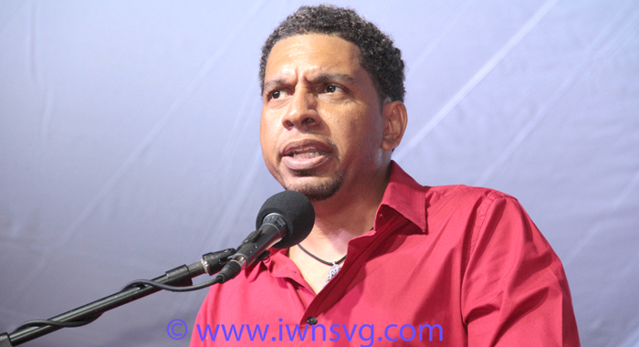 Minister Of Foreign Affairs And Ulp Candidate For East St. George, Camillo Gonsalves. (Iwn Photo)