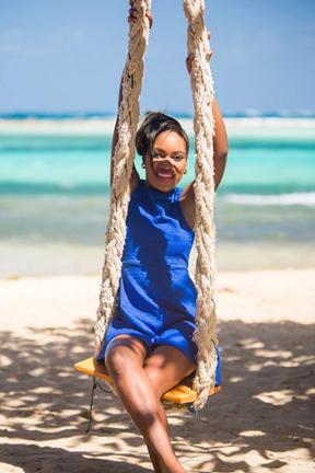 Miss Union Island Bernesha Daniel.