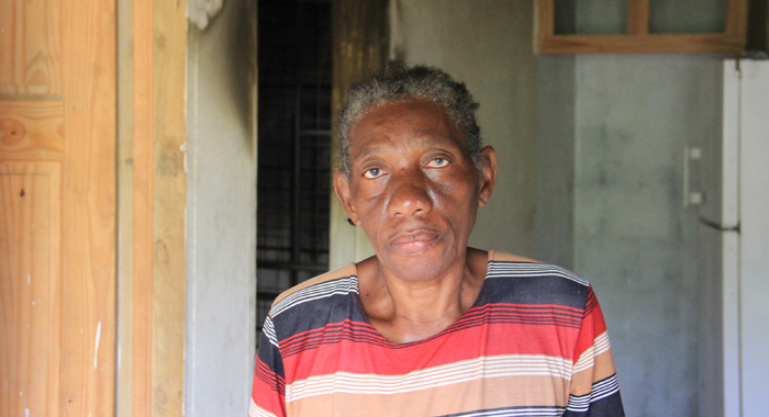 Homeowner Hyacinth Samuel-Cunningham. (Iwn Photo)