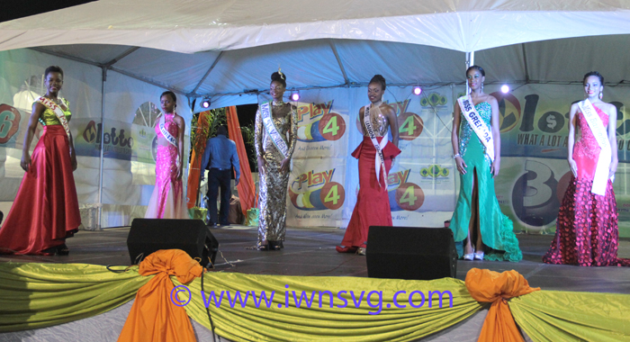 Contestants In Evening Gowns. (Iwn Photo)