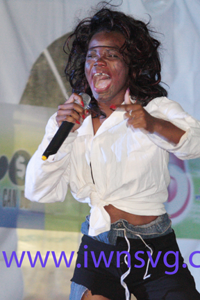 Best Talent: Miss Mayreau Lenisha Frederick. (Iwn Photo)