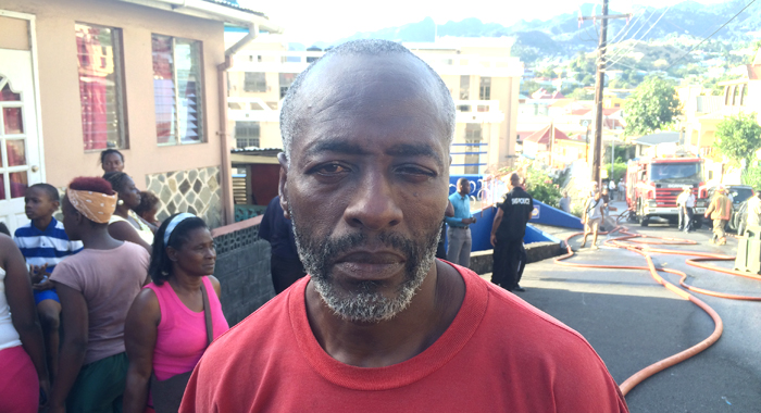 Elvis Seales Lost A House In A Fire And Owns Another That Was Damaged. (Iwn Photo)