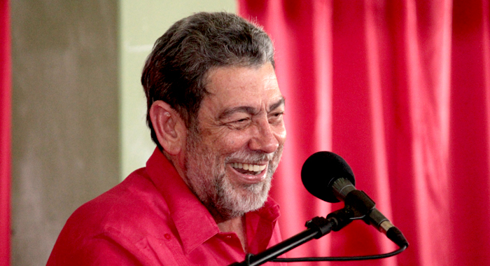 Prime Minister Dr. Ralph Gonsalves (Iwn File Photo)