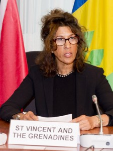 Ambassador Len Ishmael Signed The Visa Waiver Agreement On Behalf Of St. Vincent And The Grenadines.