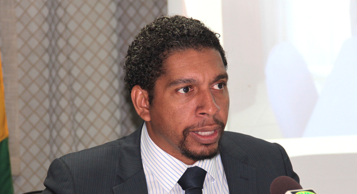 Minister With Responsibility For Information, Camillo Gonsalves. (Iwn File Photo)