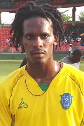 Senior Footballer Of The Year Tevin Slater.