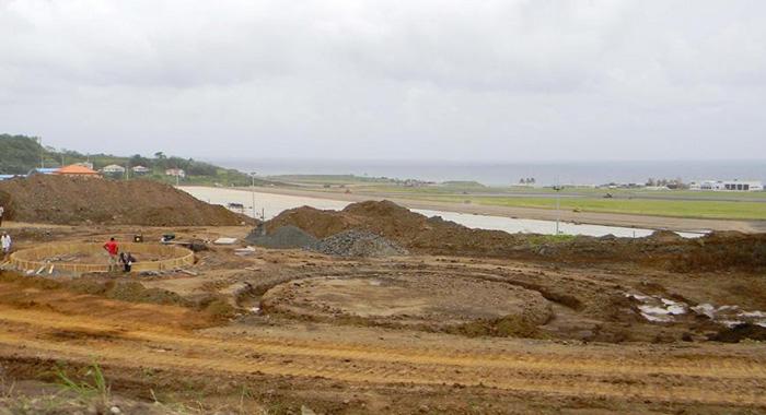 The Fuel Farm Under Construction, As Photographed On Aug. 27. (Photo: Faia/Facebook)