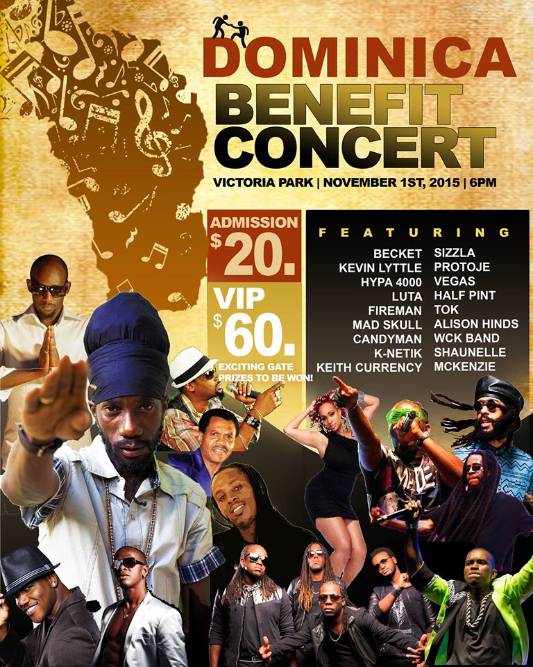Dominica Benefit Concert