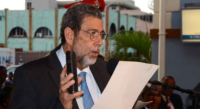 Dr. Ralph Gonsalves: Prime Minister And Minister Of Finance, The Public Service, National Security, Grenadine Affairs, And Legal Affairs. (Photo: Lance Neverson/Facebook)
