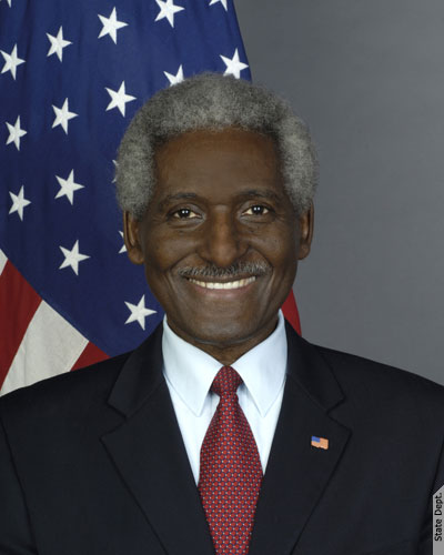 Dr. Larry L. Palmer, U.s. Ambassador To Barbados, The Eastern Caribbean And The Oecs.