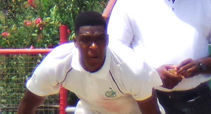 Right-Arm Offspinner Obed Mccoy.
