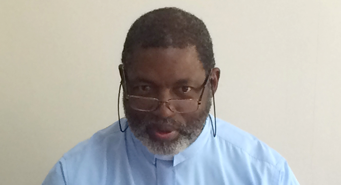 Monsignor Mike Stewart. (Iwn Photo)