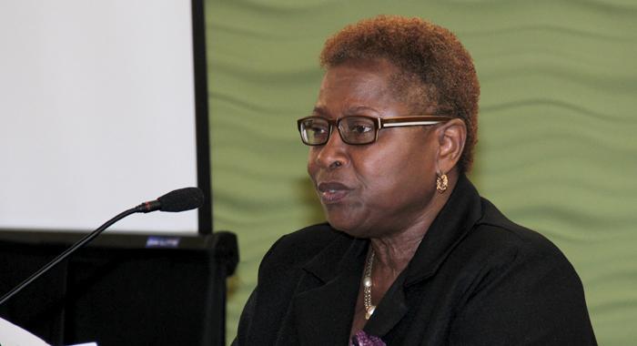 Regional Project Director, Prof. Velma Newton. (Iwn Photo)