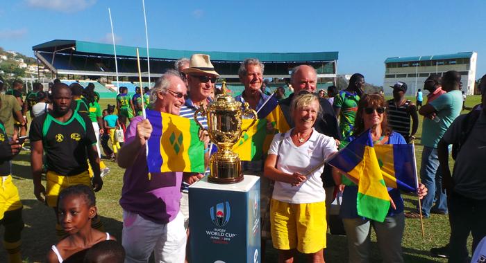 Fans Of The Vincentian Team At Arnos Vales. (Photo: E. Glenford Prescott)