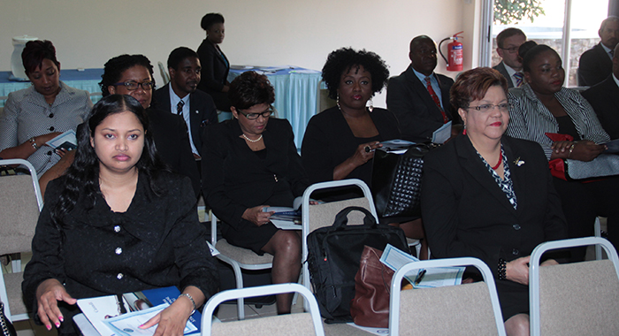 A Section Of The Audience At Thursday'S Event. (Iwn Photo)
