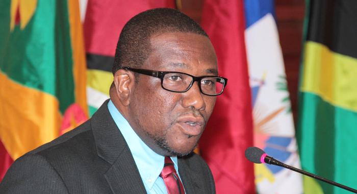 St. Lucia's Foreign Minister Alva Baptiste. (Iwn Photo)