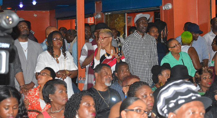 A Section Of The Audience At Saturday'S Show.