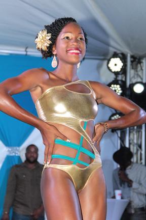 Best Swimwear: Tamara Woodley -- Miss Bequia Express Company Ltd. (Iwn Photo)