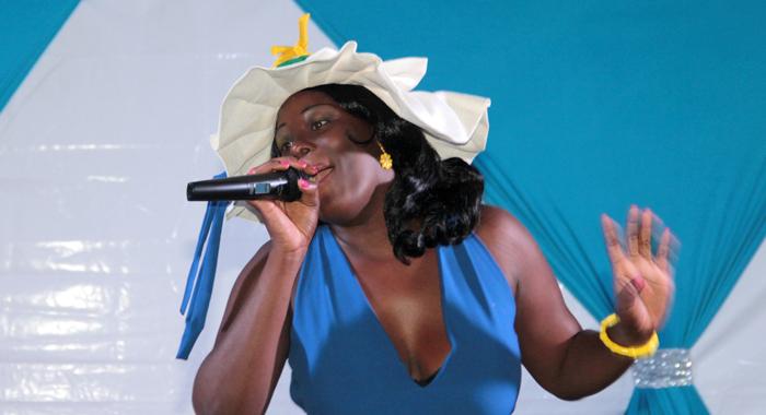 Best Talent: Ashanda Mckree -- Miss De Reef Restaurant And Bar. (Iwn Photo)