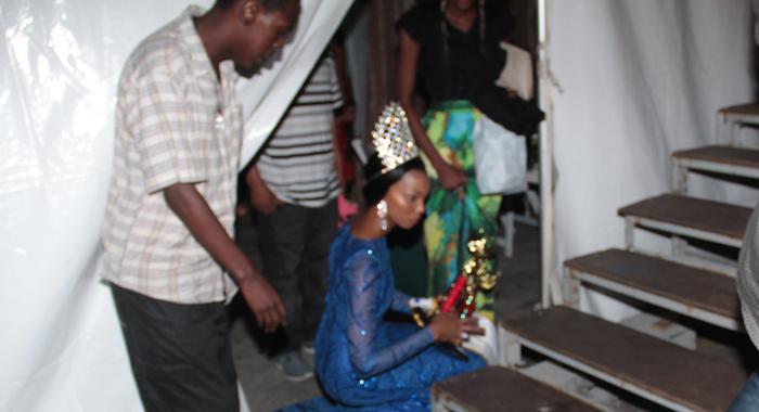 Miss P'tani 2015, Kelisha Henry Picks Up Robertson'S Trophies. (Iwn Photo)