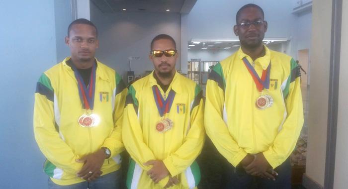 The Vincentian Men'S Karate Team.