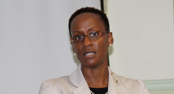 Chief Medical Officer, Dr. Simone Keizer-Beache. (Iwn Photo)