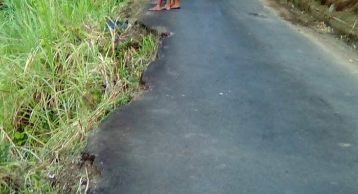 The Road In The Area Of The Accident.