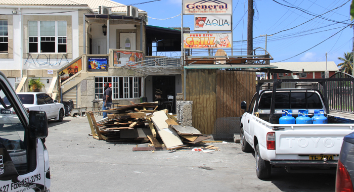 The Aftermath Of The Demolition At Aqua. (Iwn Photo)