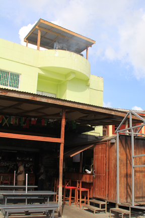 Chill Spot Has Moved Its Grilling To Its Roof In An Effort To Reduce The Effect Of The Smoke On Residents. (Iwn Photo)