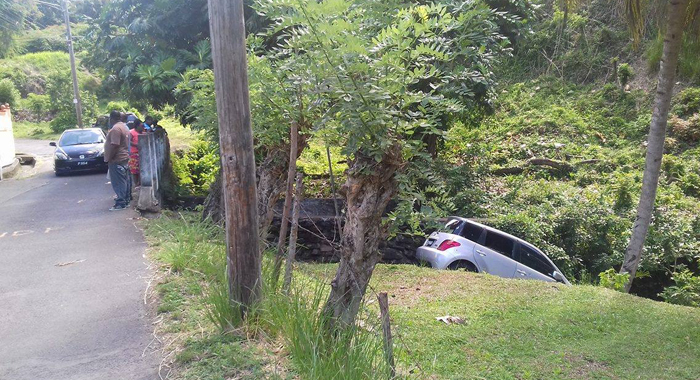 The Car Mckie Was Driving Ran Off The Road After He Was Shot.