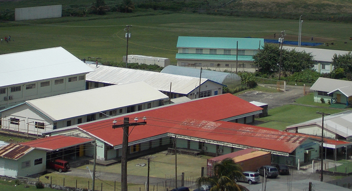 The Campus Of The Division Of Technical And Vocational Education Of The Community College, At Arnos Vale.
