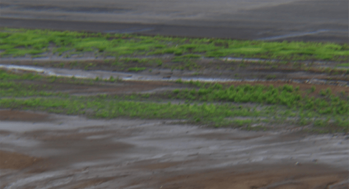 Uncompacted Ground Next To The Runway In Places Is Also A Problem Because The Areas Have Become A Big Mud Pie.
