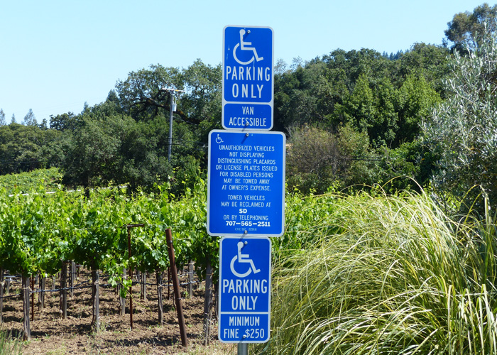Handicaped Parking Usa