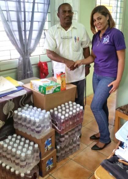 Tus T Water Hands Over School Feeding Supplies