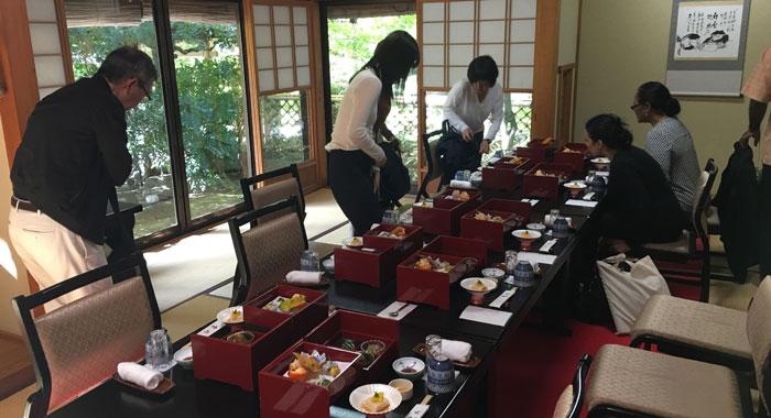 Monk Meal Preparing To Dine