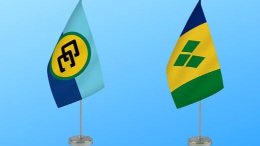 Flags Caricom Svg