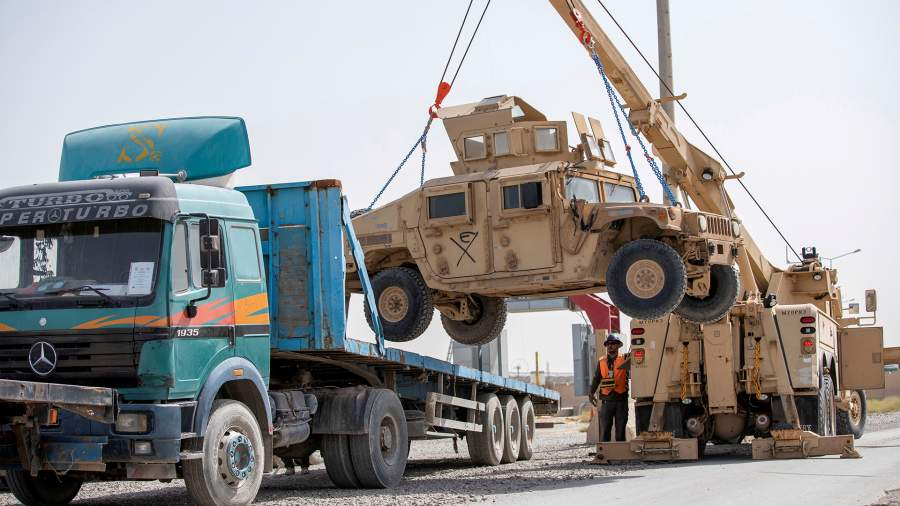 US withdraws troops from Afghanistan