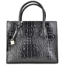 Μαύρη τσάντα ώμου 17026