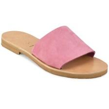 Δερμάτινη φούξια σαγιονάρα Iris Sandals IR4/1