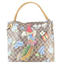 Καφέ τσάντα ώμου Dudlin 7035-563