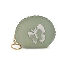 Πράσινο πορτοφολάκι Butterfly X707