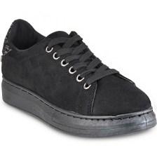 Μαύρο sneakers Isteria 7306