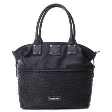 Mαύρη τσάντα ώμου Refresh 83178