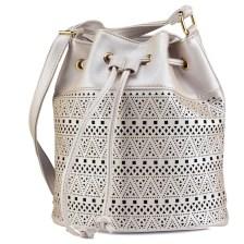 Ιβουαρ τσάντα πουγκί με lazercut 86257