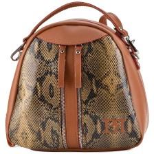 Ταμπα φίδι eco-leather σακίδιο πλάτης Pierro Accessories 90515