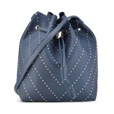 Μπλε τσάντα πουγκί Fraless 9376