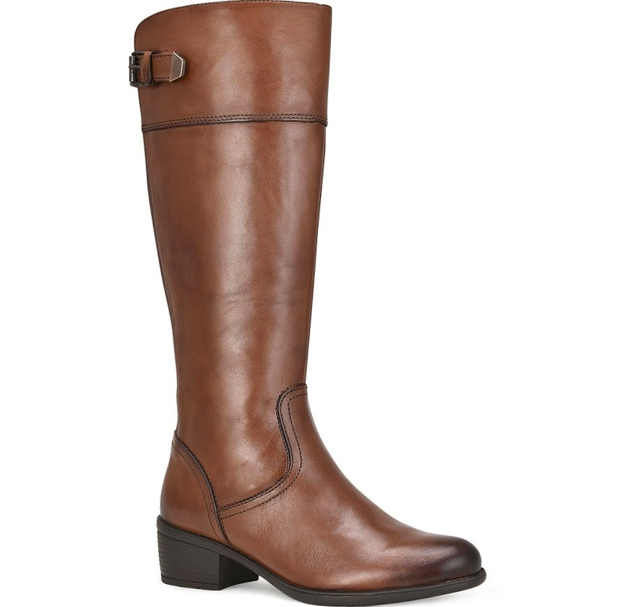 Δερμάτινη ταμπά μπότα Bussola ALICE